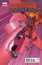 Image: Deadpool #14 (variant cover - Civil War Reenactment)  [2016] - Marvel Comics