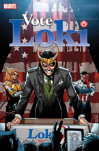 Image: Vote Loki #1 (variant cover - Schitti)  [2016] - Marvel Comics