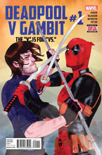 Image: Deadpool v Gambit #1 - Marvel Comics