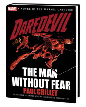 Image: Daredevil: The Man Without Fear Novel HC  - Marvel Comics