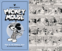 Image: Walt Disney's Mickey Mouse Vol. 09: Rise of the Rhyming Man HC  - Fantagraphics Books