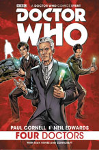 Image: Doctor Who: Four Doctors SC  - Titan Comics