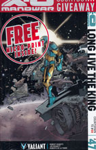 Image: X-O Manowar #47 (Lafuente variant incentive - 04761) (20-copy) - Valiant Entertainment LLC