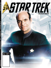 Image: Star Trek Magazine #57 (Previews Exclusive cover) - Titan Comics