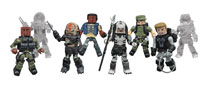 Image: Predator Minimates Series 2 Foil Blind Mystery Box Counter Display  - Diamond Select Toys LLC