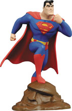 Image: Superman Animated Gallery PVC Figure: Superman  - Diamond Select Toys LLC