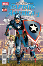 Image: Captain America: Steve Rogers #1 (variant 2nd printing cover) - Marvel Comics