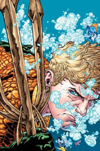 Image: Aquaman: Rebirth #1 (variant 2nd printing cover - Brad Walker)  [2016] - DC Comics