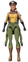 Image: DC Designer Series Ant Lucia Bombshells Action Figure 06: Hawkgirl  - DC Comics