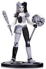 Image: Batman Black & White Statue: Harley Quinn by Amanda Conner  - DC Comics