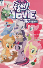Image: My Little Pony: The Movie Prequel #1 (incentive cover - Kaori Matsuo) (10-copy)  [2017] - IDW Publishing