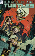 Image: Teenage Mutant Ninja Turtles #71 (incentive cover - Dylan Burnet) (10-copy) - IDW Publishing