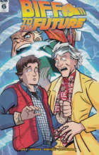 Image: Back to the Future: Biff to the Future #6 (incentive cover - Anthony Marques) (10-copy)  [2017] - IDW Publishing