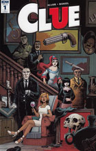 Image: Clue #1 (incentive cover - Charles Paul Wilson III) (10-copy)  [2017] - IDW Publishing