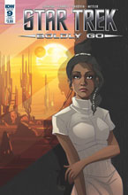 Image: Star Trek: Boldly Go #9 (subscription cover - Arianna Florean) - IDW Publishing