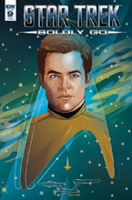 Image: Star Trek: Boldly Go #9 (Cryssy Cheung incentive cover - 00941) (25-copy) - IDW Publishing
