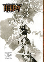 Image: Mike Mignola's Hellboy Artist's Edition: Hellboy in Hell and Other Stories HC  - IDW Publishing