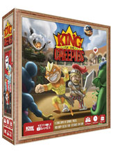 Image: King of Creepies Game  - IDW Publishing