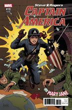 Image: Captain America: Steve Rogers #18 (Secret Empire) (variant Mary Jane cover - Rivera) - Marvel Comics