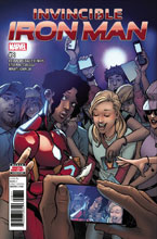 Image: Invincible Iron Man #8 - Marvel Comics