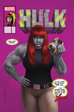 Image: Hulk #7 (variant Mary Jane cover - Rahzzah) - Marvel Comics