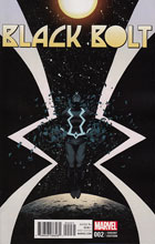 Image: Black Bolt #2 (variant cover - Shalvey & Bellaire) - Marvel Comics