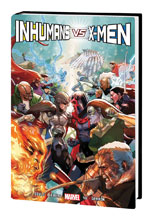 Image: Inhumans vs. X-Men HC  - Marvel Comics