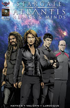 Image: Stargate Atlantis: Hearts & Minds #2 (Main cover - Larocque)  [2017] - American Mythology Productions