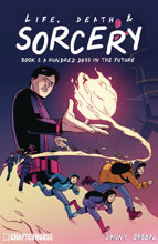 Image: Life, Death & Sorcery: A Hundred Days in the Future Vol. 01 SC  - Chapterhouse Comics