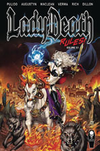 Image: Lady Death Rules! Vol. 01 SC  - Coffin Comics