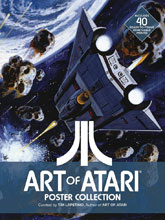 Image: Art of Atari Poster Collection SC  - Dynamite