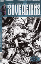 Image: Sovereigns #2 (Desjardins b&w incentive cover - 02061) (20-copy) - Dynamite