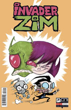 Image: Invader Zim #21 - Oni Press Inc.