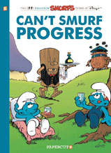 Image: Smurfs Vol. 23: Can't Smurf Progress SC  - Papercutz