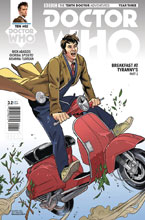 Image: Doctor Who: The 10th Doctor Year Three #2 (variant cover - Gallifrey)  [2017] - Titan Comics