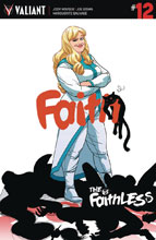 Image: Faith #12 (cover A) - Valiant Entertainment LLC