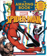 Image: Amazing Book of Marvel Spider-Man HC  - DK Publishing Co