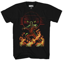 Image: Black Panther T-Shirt: Pounce Panther [Black]  (XXL) - Mad Engine