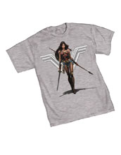 Image: Wonder Woman T-Shirt: Amazon  (L) - Graphitti Designs