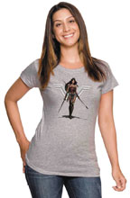Image: Wonder Woman Women's T-Shirt: Amazon  (S) - Graphitti Designs