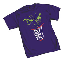 Image: Joker T-Shirt: Smile  (XL) - Graphitti Designs