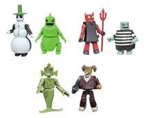 Image: Nightmare Before Christmas Series 4 Minimates Assortment  - Diamond Select Toys LLC