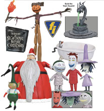 Image: Nightmare Before Christmas Select Series 3 Action Figure Assortment  - Diamond Select Toys LLC