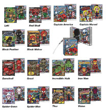 Image: Marvel X Tokidoki Frenzies 24-Piece Blind Mystery Box Display  - Tokidoki LLC