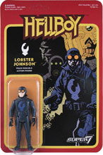 Image: Reaction Hellboy Action Figure Wave 1: Lobster Johnson  - Super 7