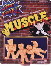 Image: Street Fighter II Muscle Figures Pack A  - Super 7