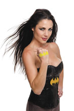 Image: DC Heroes Temporary Tattoo: Batman Symbol  - Rubies Costumes Company Inc