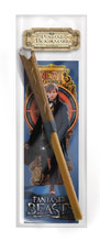 Image: Fantastic Beasts Wand Pen & Bookmark: Newt Scamander  - The Noble Collection