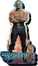 Image: Guardians of the Galaxy 2 Chunky Magnet: Drax  - Nmr Distribution America