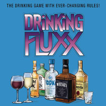 Image: Drinking Fluxx Card Game Display  - Fully Baked Ideas